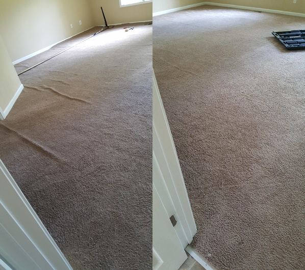 Carpet stretching in Atlanta Georgia Carpet Care and Beyond