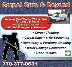Carpet Care and Beyond logo